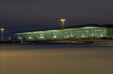 Letištní hala Stansted - foto: Foster and Partners