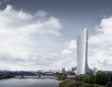 Elbtower v Hamburku od Davida Chipperfielda - foto: David Chipperfield Architects